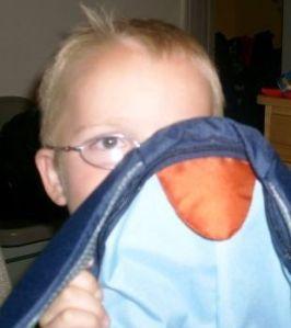 My Nephew, Robbie...