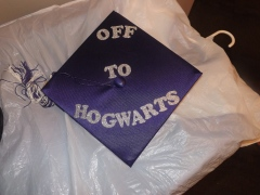 Getting a masters since my Hogwarts' letter never came.