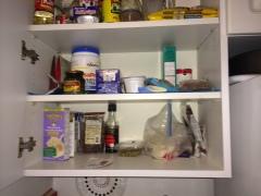 My glorious pantry aka the cupboard.