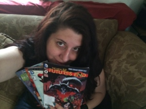A Happy Writer after Free Comic book day as predicted, I am addicted.