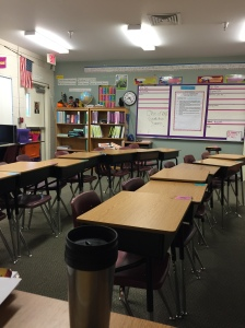 My classroom for the last seven years.